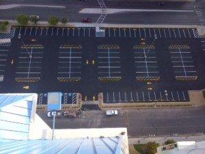 The Las Vegas Asphalt Parking Lot