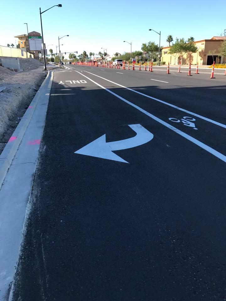 Parking Lot & Marking Change Design