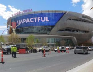Striping Project T-Mobile Arena