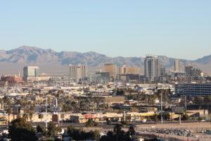 Paradise, Nevada, asphalt sealcoating parking lot striping