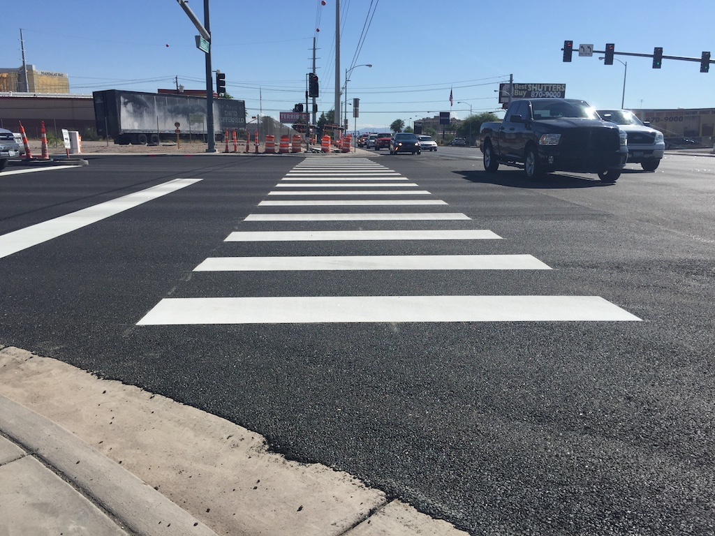 las vegas thermoplastic line marking, asphalt maintenance, affordable striping